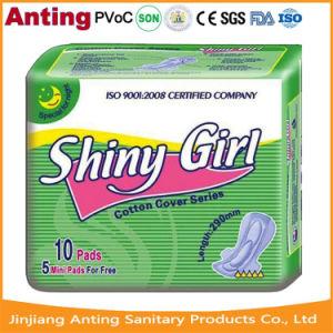 Anion Shiny Girl Ultra Thin Sanitary Napkin/Pad pictures & photos