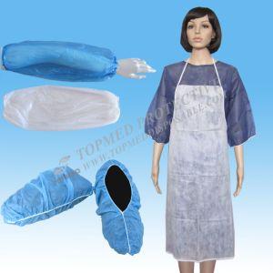 Nonwoven Disposable Apron, Waterproof Apron, Plastic Apron pictures & photos