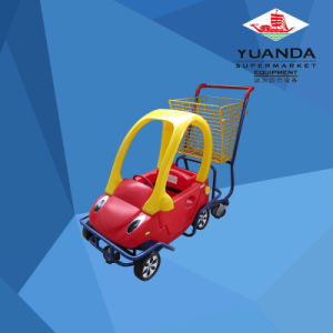 Supermarket Kids Toy Car Shopping Trolley pictures & photos