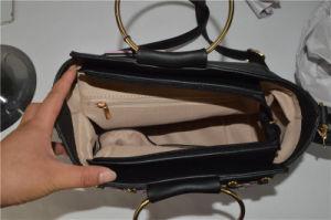 Trendy Fashion Fancy Design Luxury Women PU Handbag with Eyelets Zxk1701 pictures & photos