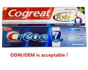 Professional Oral Care Dental Cream Tooth-Paste ODM/OEM Whitening Toothpaste pictures & photos