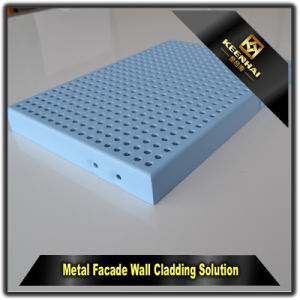 Aluminum Perforated Curtain Wall Wall Cladding pictures & photos