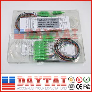 Mini Module Type 1X16 PLC Splitter Optic 1 M with Connector pictures & photos