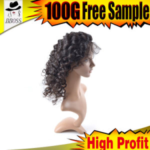 Virgin 360 Indian Blonde Remy Wavy Hair Weave Closure pictures & photos