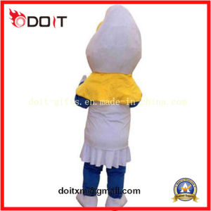 Chinese OEM Custom Make Factory Blue Adult Cartoon Mascot Costume pictures & photos