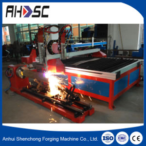 Desktop Tube Plate Integrated CNC Plasma Cutting Machine SCP-1530 pictures & photos