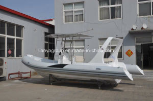 Liya 6.6m High Speed Rib Boats Rigid Inflatable Fishing Boats pictures & photos