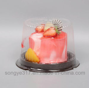 Round 4 Inch Exquisite Cake Blister Box pictures & photos