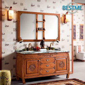 Customized Bathroom Cabinet with Mirror (BF-8071) pictures & photos