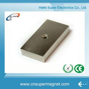 Strong N42 50*20mm Nickel Neodymium Block Magnet pictures & photos