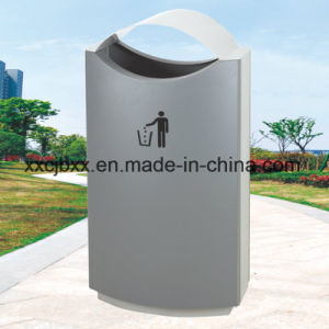 40L Cold-Rolled Steel Materials Iron Cast Trash Bin, Metal Waste Bin pictures & photos