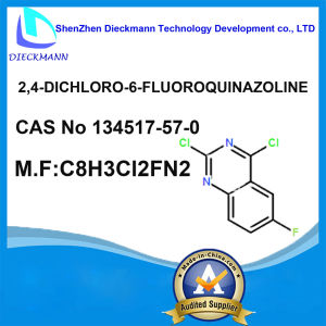 2, 4-Dichloro-6-Fluoroquinazoline CAS No 134517-57-0 pictures & photos