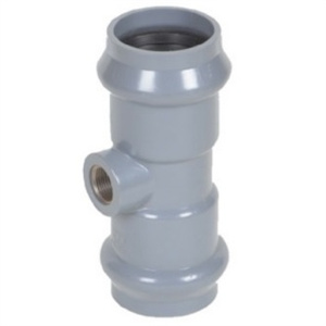 PVC Tee Rubber Ring Joint pictures & photos