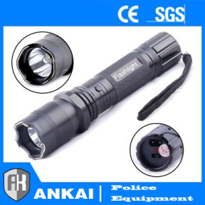 Police Aluminium Alloy Stun Gun with Electric Shock Self-Defense 1101 pictures & photos