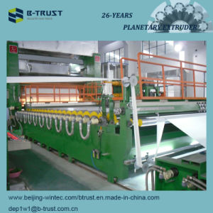 5 Roll PVC Calendering Line with Planetary Extruder pictures & photos