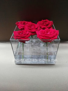 Factory Manufacturer Clear Acrylic Flower Box/ Acrylic Rose Box pictures & photos