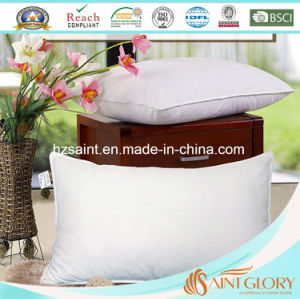 Standard Luxury Hotel Goose Down Pillow with Pure Cotton Casing pictures & photos