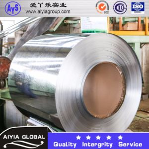 Galvanized Steel Coil (Coating: 60G/M2-300G/M2) 0.1mm-5mm Regular Spangle and Zero Spangle pictures & photos