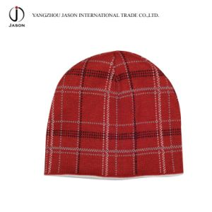 Jacquard Knitted Hat Winter Jacquard Beanie Winter Hat Jacquard Toque Acrylic Knitted Hat pictures & photos
