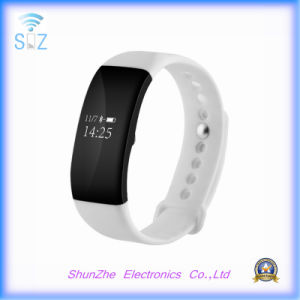 Ios Android Mobile Phone V66 Smart Band Bracelet Wristband with Heart Rate Monitor Activity Fitness Tracker pictures & photos