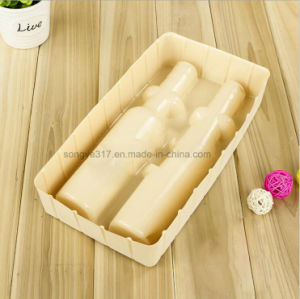 High - Grade Cosmetics Flocking Plastic Packaging Plastic Tray pictures & photos