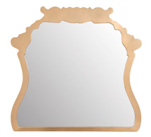 Gold Mirror Made in China Design Decorative Wall Mirror pictures & photos