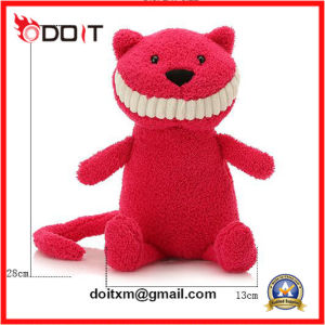 Red Big Smile Stuffed Cat Plush Cat Toy pictures & photos