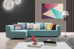 Stunning Fabric Corner Sofa for Livingroom pictures & photos