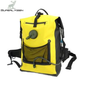 Outdoor Waterproof Yellow Hiking Backpack pictures & photos