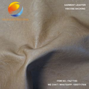 High Quality Garment PU Artificial Leather Faz Y153 pictures & photos