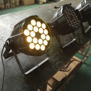 DMX Stage LED 18X18W RGBWA UV 6in1 Zoom PAR Light pictures & photos