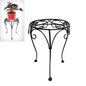 Metal Garden Decoration Popular Linellae Flowerpot Holder Craft pictures & photos