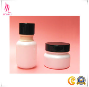 Aluminum Cover Glass Bottle for Cosmetic Package pictures & photos