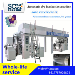 PVDC, PE, PVC, Aluminum Film Laminator Machine pictures & photos