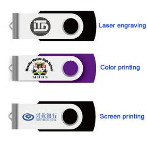 Brazil Custom Logo Swivel USB Drive 386c USB Stick 4GB 8g 16g 32g Pen Drive pictures & photos