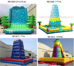 4 Style Inflatable Wall Moutain Climbing for Sport Game pictures & photos