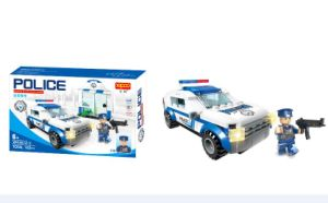 Police Series Plastic Buiding Blocks 6 in 1 Toy pictures & photos