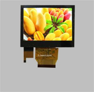 3.5 Inch TFT LCD Screen 320X240 Resolution with Capacitive Touch Screen pictures & photos