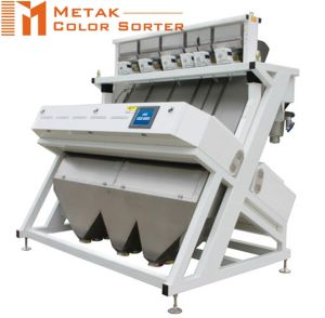 4 Chutes 256 Channels Bean Color Sorter Machine, Intelligent CCD Multifunction Color Sorter pictures & photos
