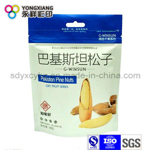 Snack Food Stand up Zipper Plastic Packaging Bag for Nuts/Dried Fruit pictures & photos