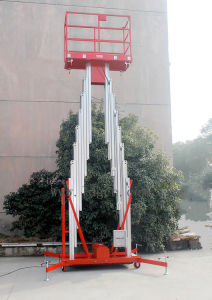 12 Meters Aluminium Mobile Mast Aerial Work Platform (GTWY12-200SA) pictures & photos
