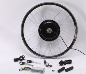 48V 1000W Brushless Gearless Hub Motor Front or Rear Motor Wheel Kit for Sale pictures & photos