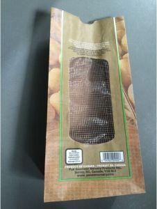 Paper Bag with Netting Window for Potatoes pictures & photos