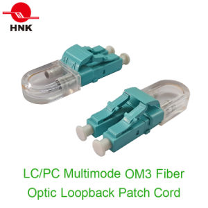 LC PC/APC Fiber Optic Loopback Patch Cord pictures & photos