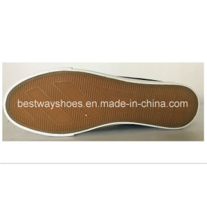 Casual Shoes Fashion Slip-on Canvas Shoes with Rubber Outsole pictures & photos