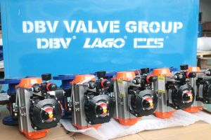 Pneumatic Carbon Steel Floating Ball Valve pictures & photos