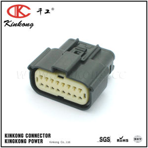 16 Pin Auto Connector with Terminal 33472-1740 pictures & photos