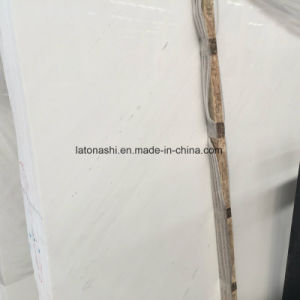 White Marble Slabs White Sivec for Wall and Floor Tiles pictures & photos