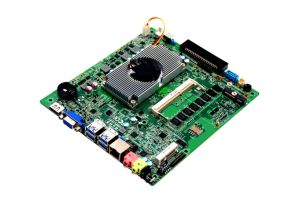 OPS Mini Itx Motherboard Haswell-U Embedded Mainboard with Mini-Pcie for 3G/I7-5500u Processor pictures & photos