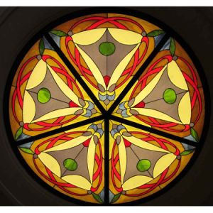 New Commercial Suspended Room Coverings Art Stained Glass Modular Ceiling Dome pictures & photos